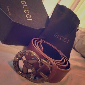Rare Mens Gucci Belt